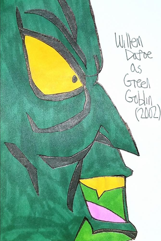 Green Goblin, Willem Dafoe par armattock